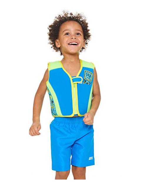 Zoggs Deep Sea Swim Jacket Kids Blue